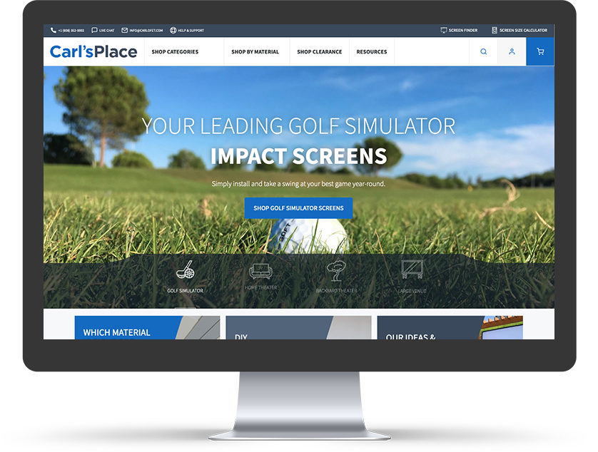 Carl's Place    Manufacturing Magento 2 Ecommerce Case Study
