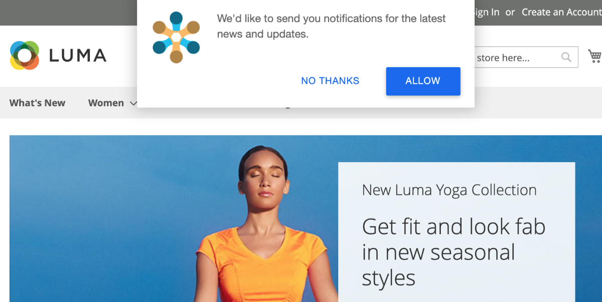 Enabling Push Notifications to Drive Results