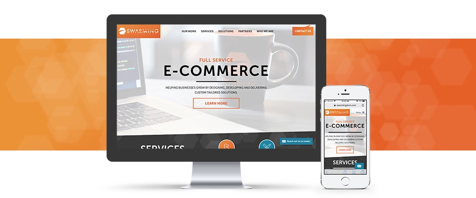 Swarming Technology Launches New Site